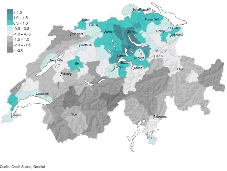 Standortranking 2018 mit Ausblick 2025