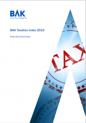 Report BAK Taxation Index 2019